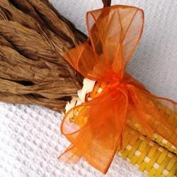 Corn Yellow with Orange Ribbon 103